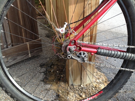 Surly Singleator installed