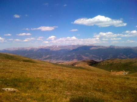 one of many amazing views in Leadville, CO