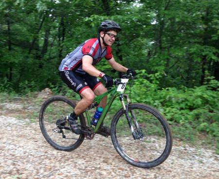 Brian Parker during the Skyway Epic