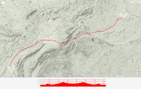 ladiga strava map